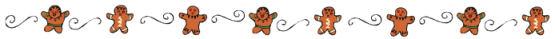 Divider - gingerbread