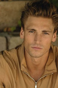 I pictured Andrew Walker as Garrett