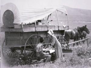 Oregon Trail Wagon Train 4