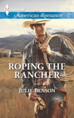 Roping the Rancher Front Cover