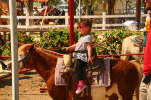 FIRST EVER PONY RIDE!