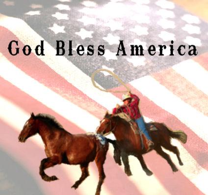 God Bless America Cowboy