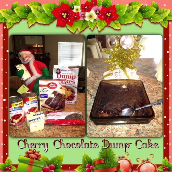 CHERRY CHOCOLATE DUMP CAKE