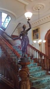 Iolani grand staircase