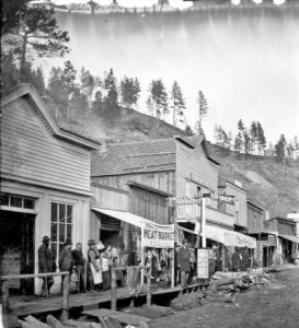 Lower Main Street, Deadwood, SD, 1877