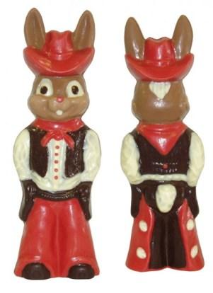 Chocolate Bunny Cowboy