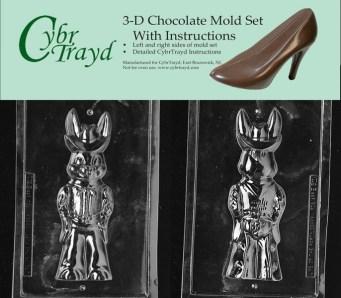 Chocolate Bunny Cowboy Mold