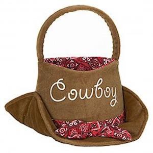 Cowboy Easter Basket