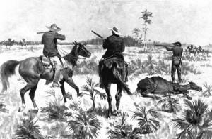 FredericRemington_Fighting_over_a_stolen_herd_1895