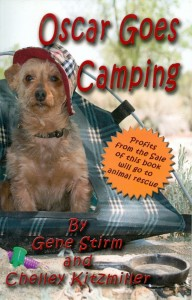 Oscar Goes Camping Cover