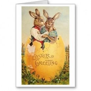 EASTER 2 bunny couple
