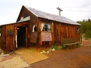 DANICA outside cabin