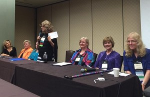 Panel with Seymour Agnecy sibs & Mary Sue Seymour