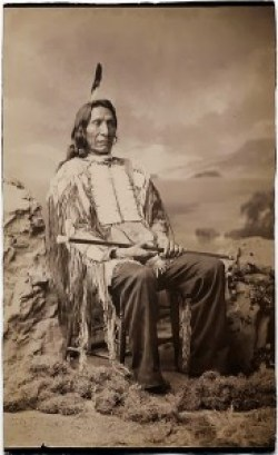 Red Cloud, ca. 1880 (photo by John K. Hillers, courtesy Beinecke Rare Book and Manuscript Library)