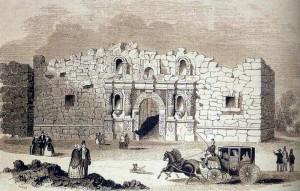 The Alamo, 1854