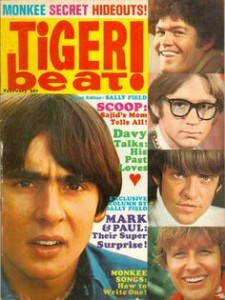 Tiger Beat Davy Jones