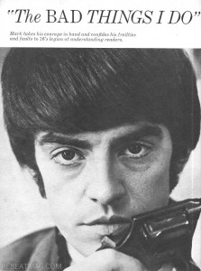 Tiger Beat Mark Lindsay
