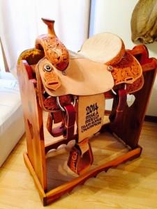 Saddle and stand