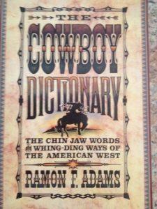 Cowboy language