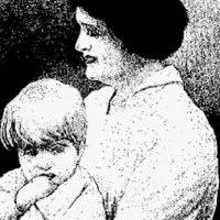 Bertha Gifford and a six-year-old victim