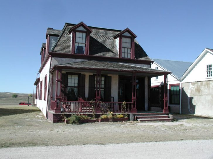 Old Fort Laramie Burt house