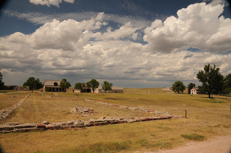 Old Fort Laramie store foundation