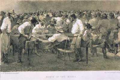 """""""Monte in the Mines,"""" J.D.Borthwick, 1851"""