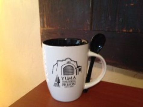 ceramic mug with prison logo