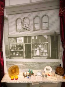 Belle Fourche museum display