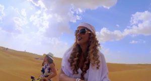 Camel in the sky