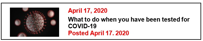 4-17-20 What to do when you have been tested for COVID-19 Eng