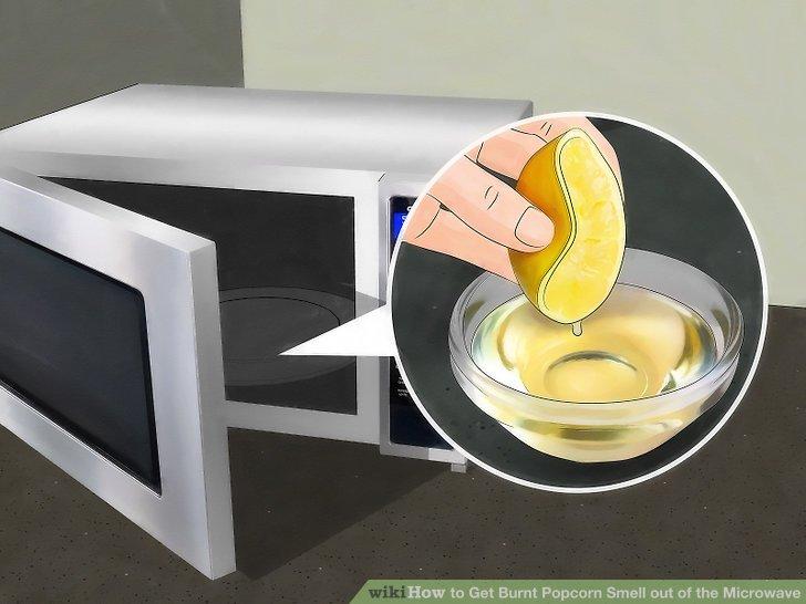 cuci microwave,buang bau busuk dalam microwave, bersihkan microwave, cara bersihkan microwave,