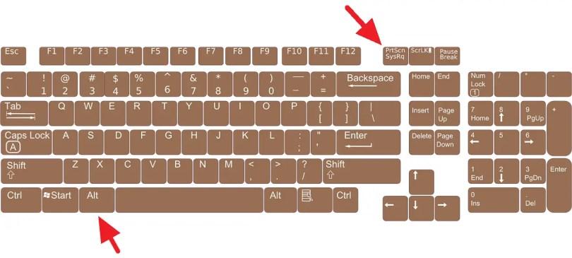 5 Cara Screenshot Windows 10 Tanpa Software (Tersimpan Otomatis) - keyboard 156077 1280 1 1
