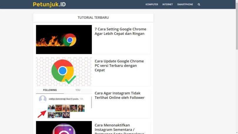 Cara Aktifkan Mode Full Screen di Google Chrome (SEKALI KLIK