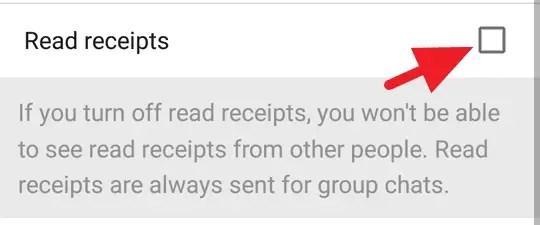 Cara Mematikan Tanda Centang Biru WhatsApp