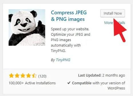 Kompres Gambar WordPress