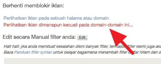 Cara Blokir Iklan Hanya Pada Website Tertentu (SEMUA BROWSER) - Blokir Iklan Website Tertentu 3