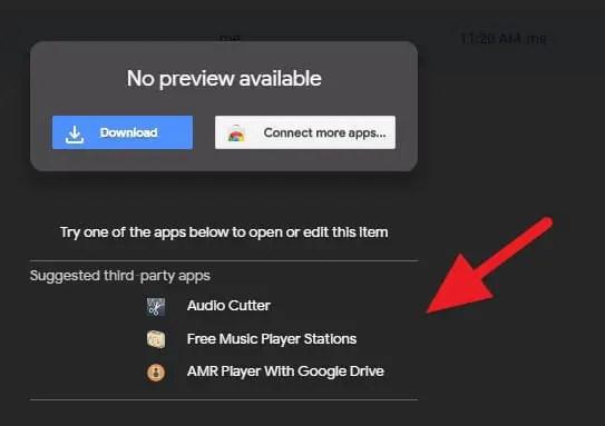 Format file yang tidak didukung Google Drive