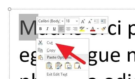 2 Cara Membuat Drop Cap di PowerPoint (SEMUA VERSI) 9