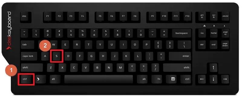 3 Cara Menyimpan File PowerPoint dengan Cepat - Menyimpan PowerPoint Shortcut Keyboard
