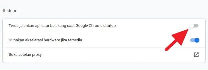 5 Cara Mencegah Chrome Terbuka Sendiri Saat PC Menyala 7