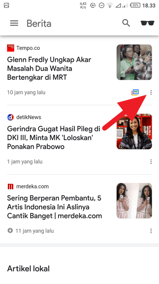 """3 Cara Mengubah Topik """"Artikel untuk Anda"""" di Chrome Android 10"""