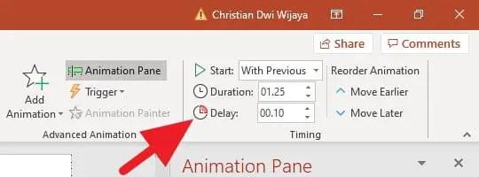 Cara Mengatur Urutan Animasi PowerPoint Agar Kronologis 4