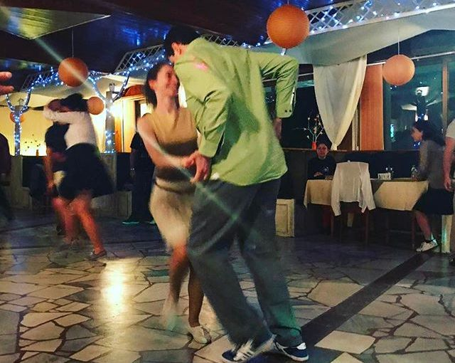 Boogie Madness Spring edition ❤️🎶❤️ A shot of Vladi&Beni's sweet sugar push that happens so fast it's impossible to take a decent pic. #Bulgaria #Dryanovo #dancing #boogiewoogie #flyingsteps #vsco #vscocam #picoftheday