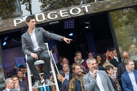 Media Conference Peugeot / ATP - Peugeot Avenue - Paris le 02/11/2015
