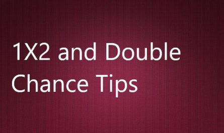 1X2 and Double Chance Tips