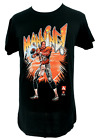 Peyton Manning T-Shirt NFL QB #18 Colts Broncos Cotton Black Comic New Large L
