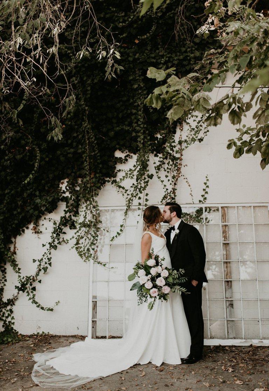 Modern Palm Springs Vibe Wedding, Modern + Greenery Wedding
