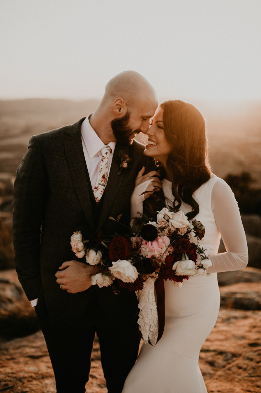 Oklahoma wedding photographers, Wichita Mountains Bridals | Oklahoma Wedding Photographers