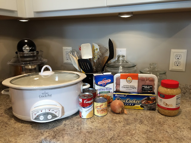 Creamy Chicken in the Crock Pot
